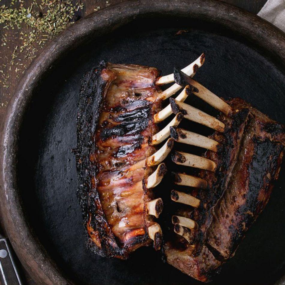 Lams Rack Vers 8-ribs 75mm ca. 350 gram