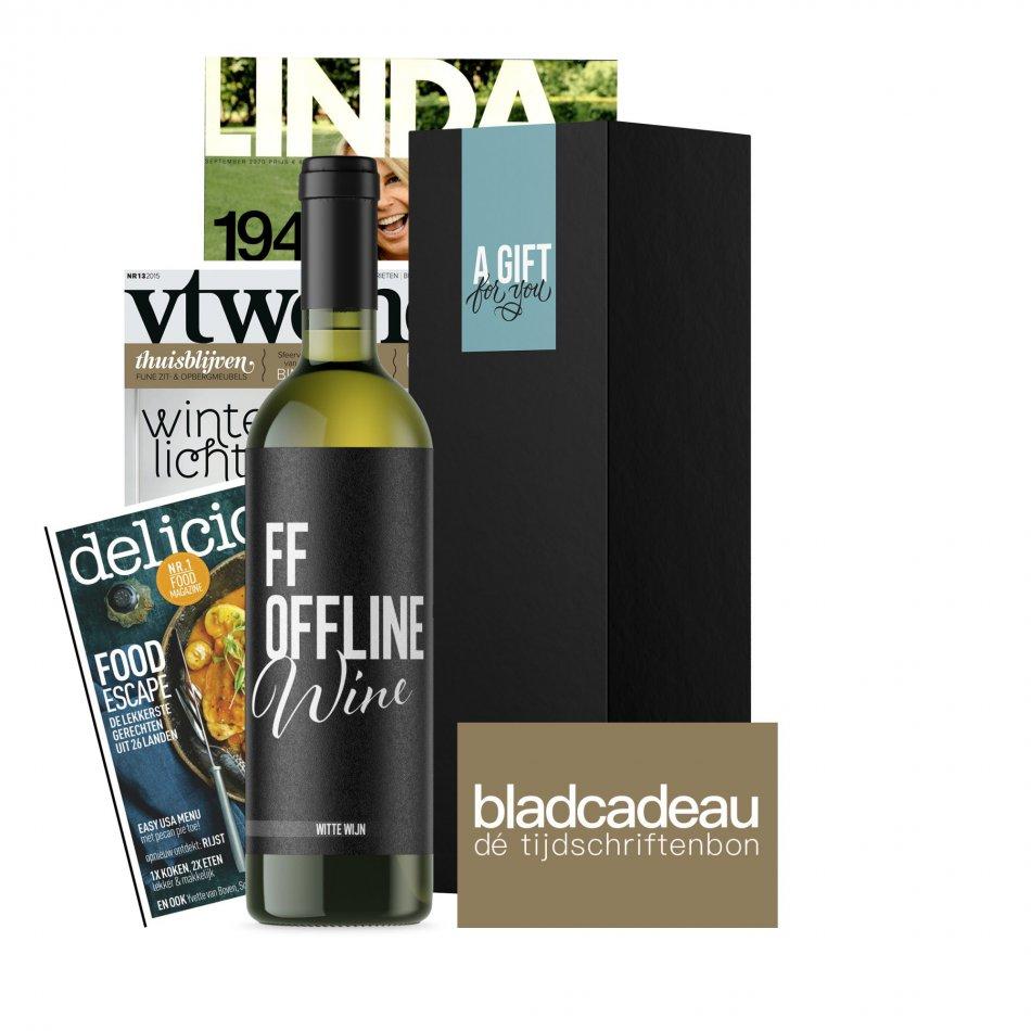 FF Off Line Wine Tijdschriftenbon- Wit